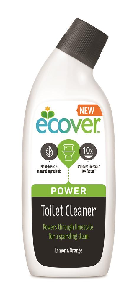 ECOVER WC čistič Power 750ml Citrus