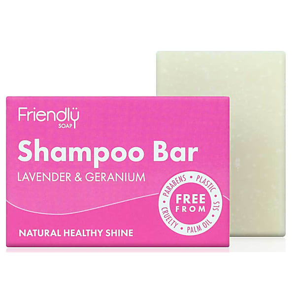 FRIENDLY SOAP šampón levandule a pelargonie 95g
