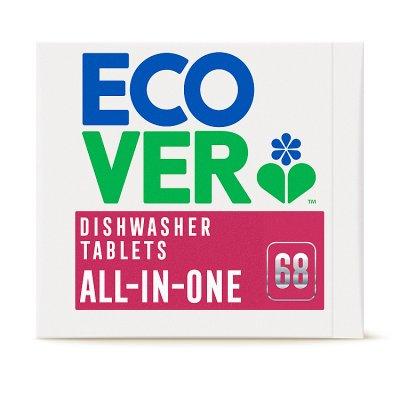 ECOVER tablety do myčky All-In-One 65ks