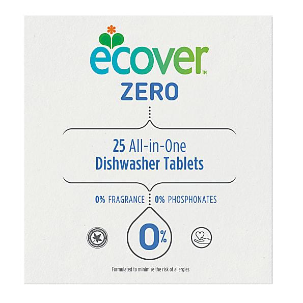 ECOVER ZERO tablety do myčky 25ks All In One