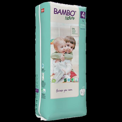 ABENA Bambo Nature 4 L pro 7-14kg 48ks