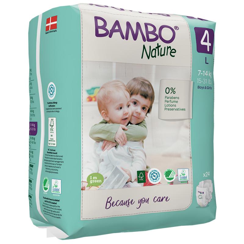 ABENA Bambo Nature 4 L pro 7-14kg 24ks