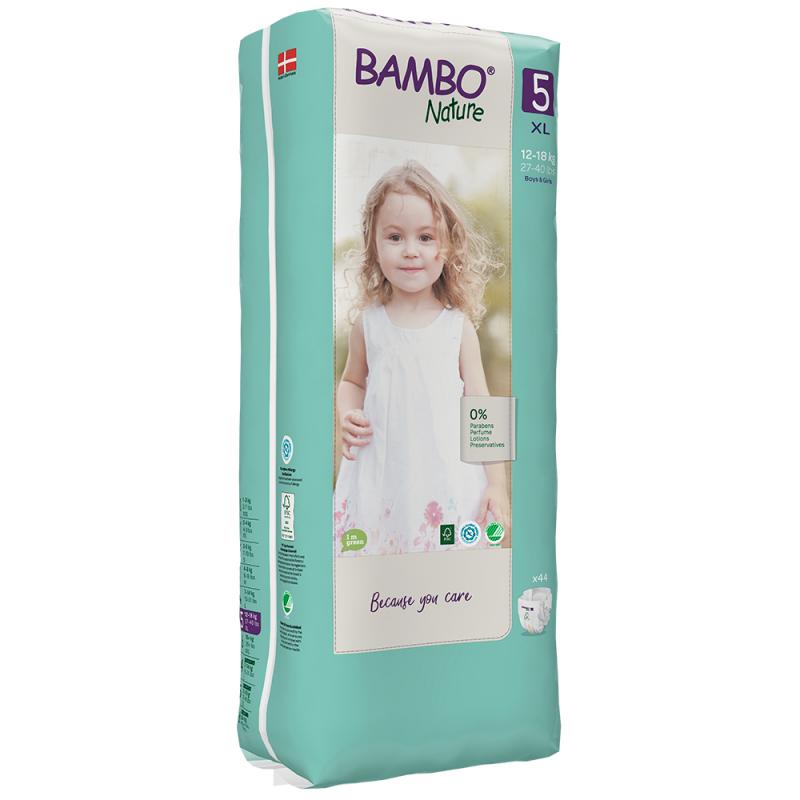 ABENA Bambo Nature 5 XL pro 12-18kg 44ks
