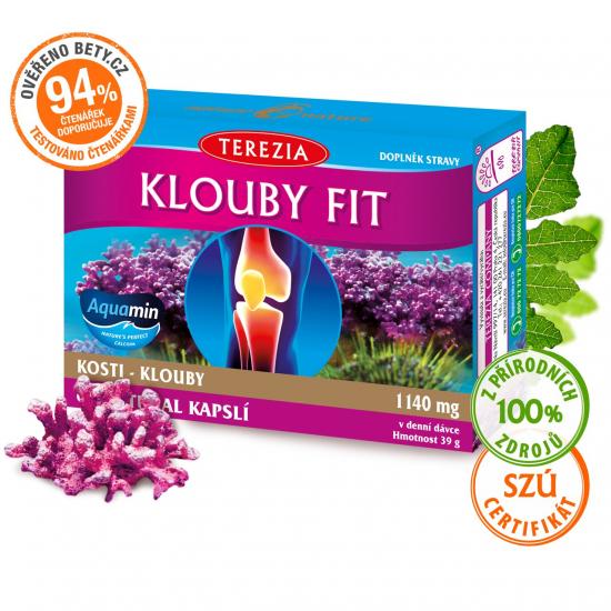 TEREZIA Klouby fit 60 kapslí (exp. 31.5.2023)