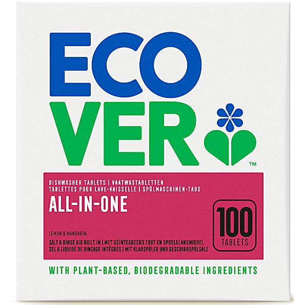 ECOVER tablety do myčky All-In-One 100ks