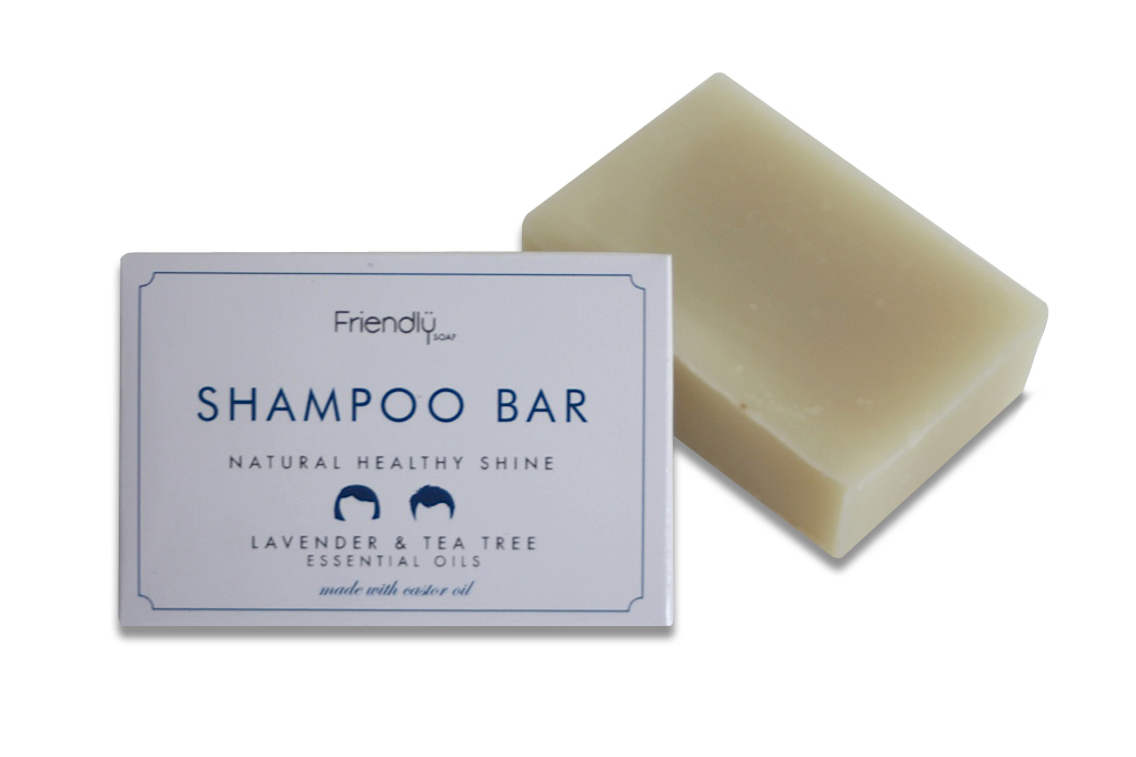 FRIENDLY SOAP šampón na vlasy levandule a tea tree 95g