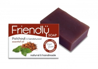 FRIENDLY SOAP pačule a santalové dřevo 95g