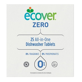 ECOVER ZERO tablety do myčky 25ks All In One