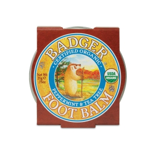 BADGER mini Foot balm 21g na nohy