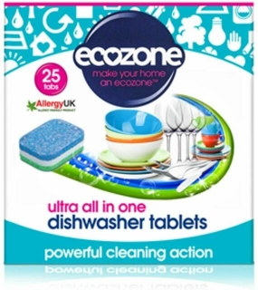 ECOZONE tablety do myčky Ultra 25ks All-In-One