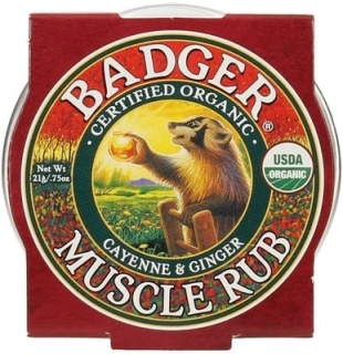 BADGER mini Muscle Rub 21g na svalovou únavu