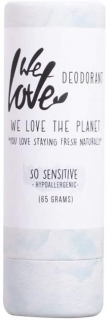 We Love The Planet Přírodní tuhý deodorant, So Sensitive 65 g