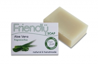 FRIENDLY SOAP mýdlo s aloe vera bez vůně 95g